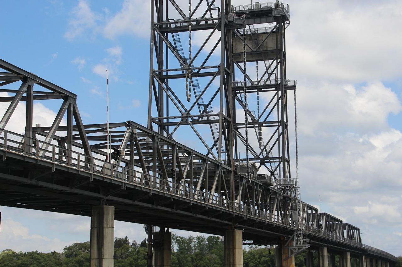 Мосты, опоры, стрелы и пролёты